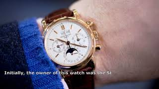 Patek Philippe Reference 1527 for $ 5,630,000 is the most expensive watch in the world