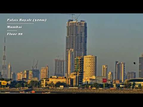 Top 10 tallest Buildings in India / Mumbai 2017 - India's skyline