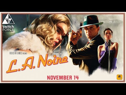 L.A. Noire Switch New Details and Resolution!