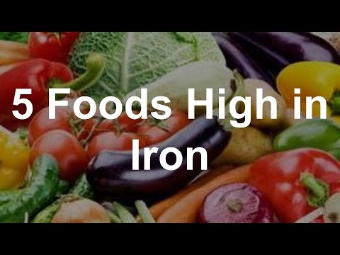Which vegetables are the best sources of iron?