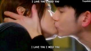 Repeat youtube video Just - I Love You FMV (You Who Came From The Stars OST)[ENGSUB + Romanization + Hangul]