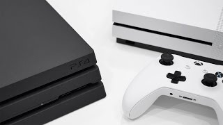 PS4 Pro vs Xbox One S - Full Comparison