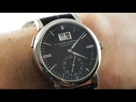 A. Lange \u0026 Sohne Langematik Big Date (308.027) A. Lange \u0026 Sohne Watch Review