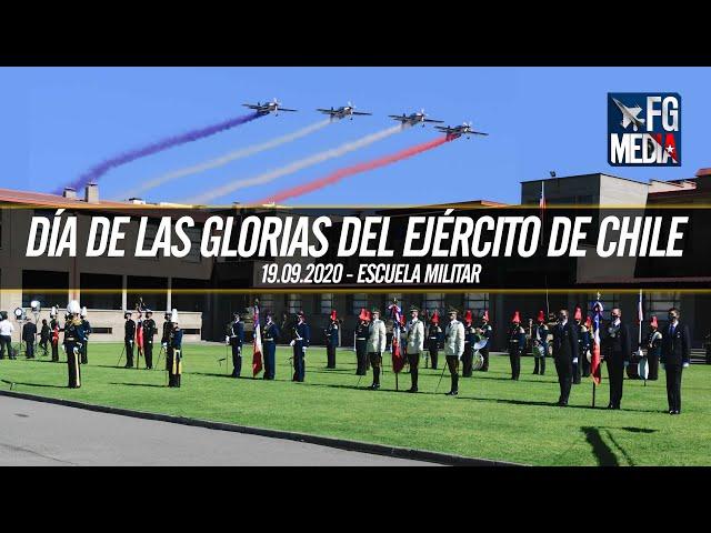 Histórica ceremonia Día de las Glorias del Ejército 2020