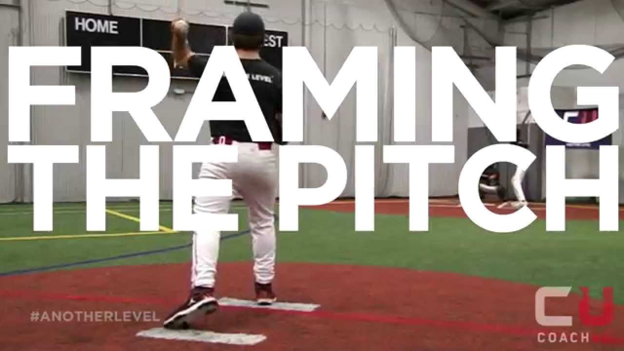 Baseball Tips: How To Frame A Pitch - YouTube