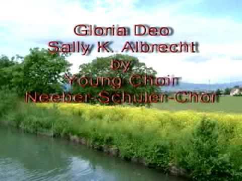 Gloria Deo - Sally Albrecht