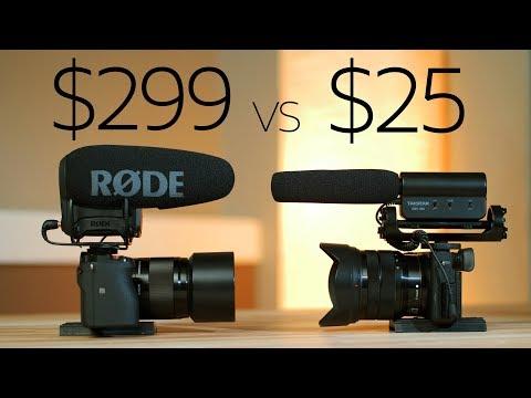 $25 vs $299 - Takstar beats the Rode VideoMic Pro+ ?  😲