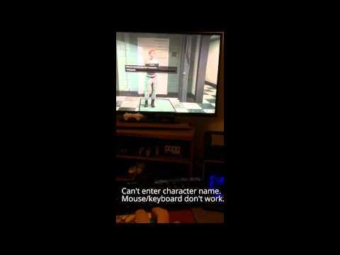[SOLVED] GTA Online character creation/social club UI bug