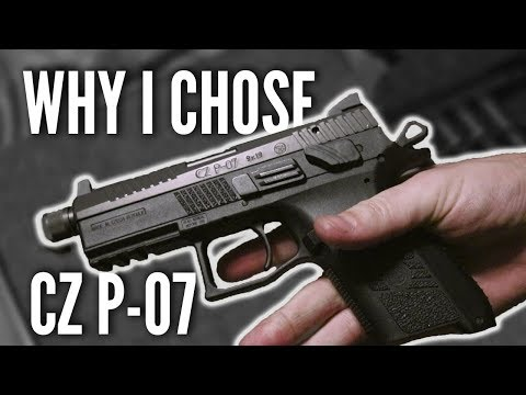 CZ P-07 UNBOXING! ALL YOU NEED! Range Drills 200 rnd + Field Strip | RPSTV