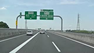 【前面展望】圏央道 大栄JCT-海老名JCT