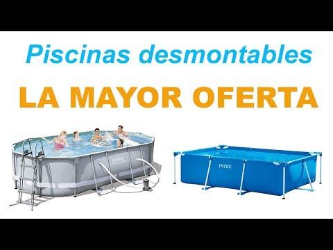 Piscinas desmontables la mayor oferta en piscinas for Ofertas piscinas desmontables rectangulares