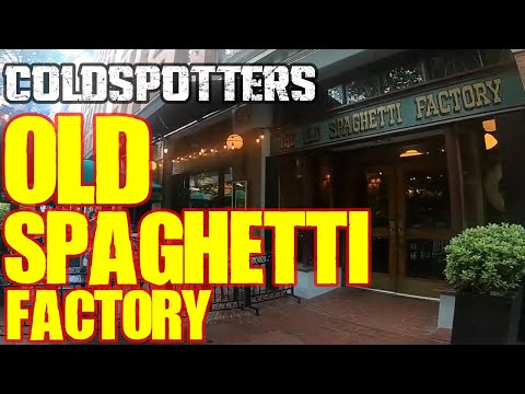 Lunch At The Haunted Old Spaghetti Factory In Gastown