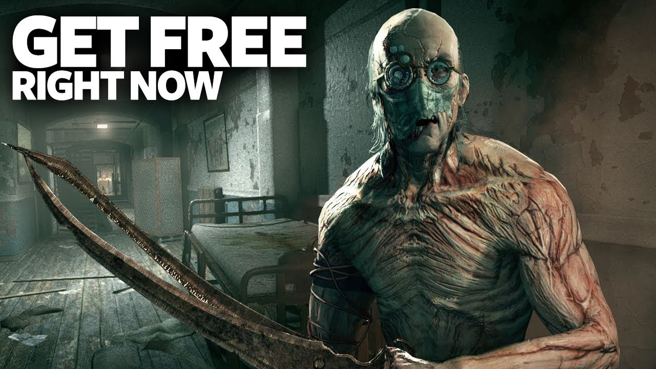 Get Outlast Deluxe Edition Free Right Now - Free Horror Steam PC Game (For  LifeTime)