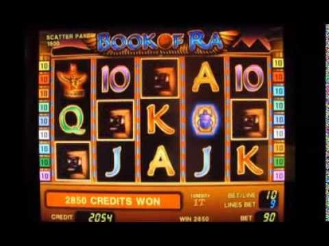 Hogyan lehet pénzt nyerni a nyerőgépeken - Book of Ra játék
