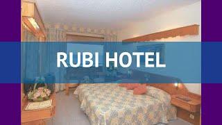 RUBI HOTEL 5* Турция Алания обзор – отель РУБИ ХОТЕЛ 5* Алания видео обзор