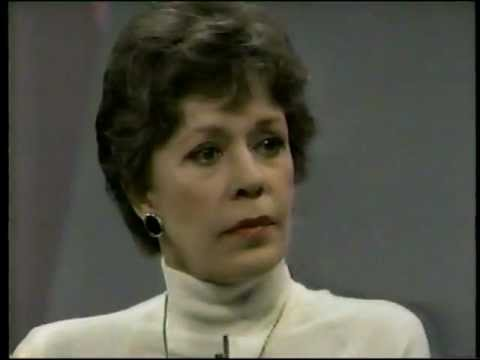 Carol Burnett on Oprah in 1987