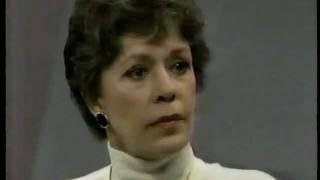 Carol Burnett on Oprah in 1987