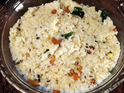 Ven Pongal or Ghee Rice