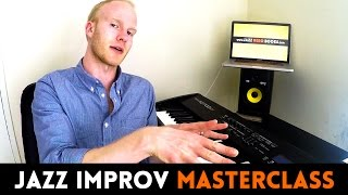 3 IMPROVISATION TECHNIQUES - to beef up your jazz solo