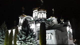 Ночной Раифский мужской монастырь. Крещение Господне