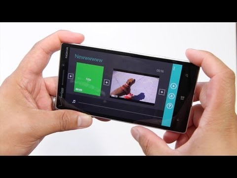 MovieJax, new video editor for Windows Phone