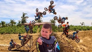 DANGERBOY DEEGAN | Ten Year Old Kid Doing Backflips
