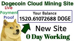 Earn 😲 Free Dogecoin 2020 || Best Free Dogecoin Mining Site Earn 100 Daily & Live Payment Proof 100