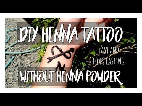 Diy Henna Tattoo No Henna Powder Neil Patrick