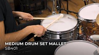 MEINL Stick & Brush Medium Drum Set Mallet SB401