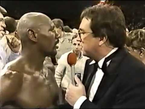 Hagler Vs Leonard Pre And Post Fight Interviews.
