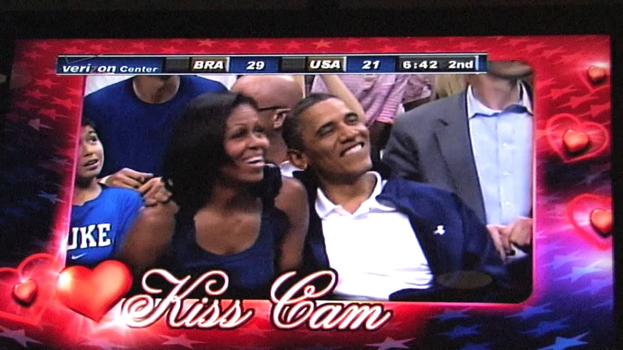 Obamas Refuse To Kiss On Kiss Cam, Get Boo'ed In ...