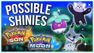 Possible Shinies for Mimikyu, Bewear, & More! - Pokemon Sun & Moon | Supreme Thoughts