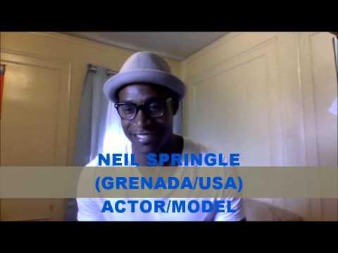 Grenada's Actor & Model Neil Springle Extended Interview