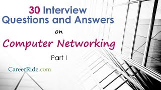 Networking Interview Questions and Answers - Part I