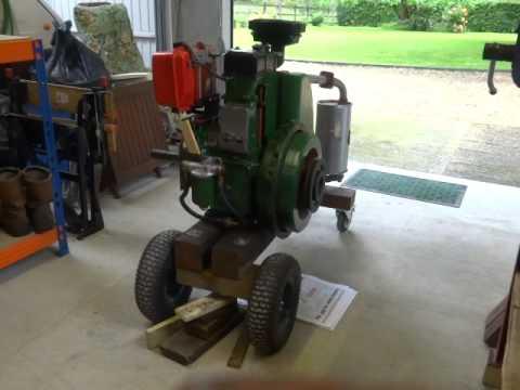 Lister Stationary Engine - SR1 Reverse Rotation 7.75BHP @ 2,500RPM