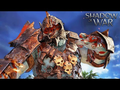 SHADOW OF WAR - UNIQUE ATTACK OF ARMY SAURON. REINFORCE & AMBUSH IN NEMESIS MORDOR |
