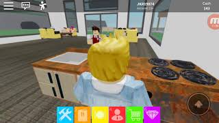 ROBLOX #33 with my brother we opened our own restaurants