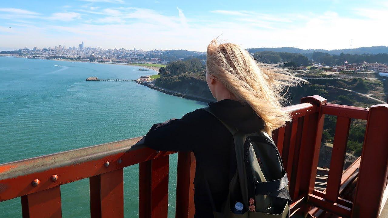 Słodkie lwy morskie, opuszczone więzienie Alcatraz i San Francisco | Codziennie Fit VLOG