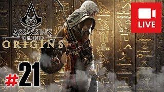 "[Archiwum] Live - Assassin's Creed Origins! (9) - [1/3] - ""Penetrowanie piramid"""