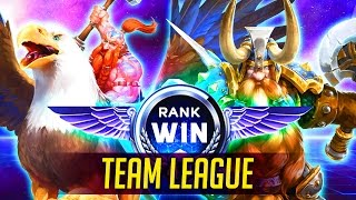 RANK WIN TEAM LEAGUE | Squadron Heroes of the Storm Rank Win | Heroes of the Storm Ranked Gameplay