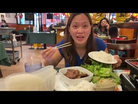 Vlog 1422 ll BÚN CHẢ HÀ NỘI- BÒ NƯỚNG VỈ, NHÀ HÀNG VIỆT NAM Ở NEW YORK NGAY CHINA TOWN MANHATTAN