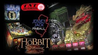 #1140 Jersey Jack THE HOBBIT-SMAUG GOLD EDITION Pinball Machine-TNT Amusements