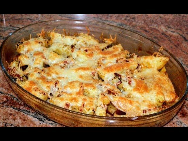 Печени картофи с бекон и кашкавал