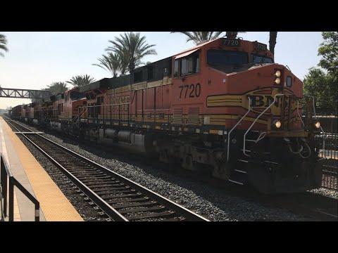 Trains at Fullerton, California August 2017