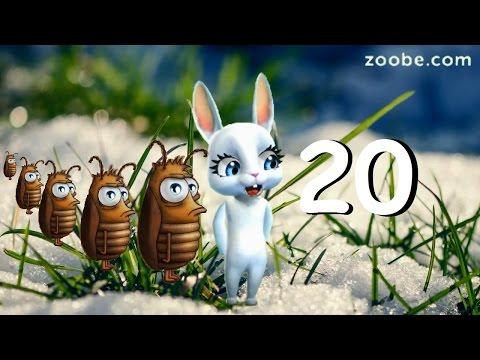 Zoobe Зайка Зайкины тараканчики, выпуск 20 !!!! - Клип смотреть онлайн с ютуб youtube, скачать