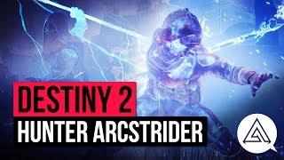 DESTINY 2 | All New Arcstrider Hunter Abilities, Super & Subclass Skill Tree