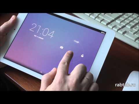 Как разблокировать экран планшета