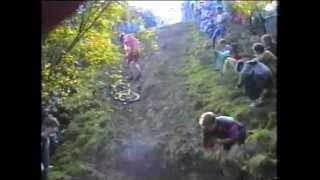 Bosley mudslide and vintage MTB Mountain bike Cross country race 1991 (nemba era)