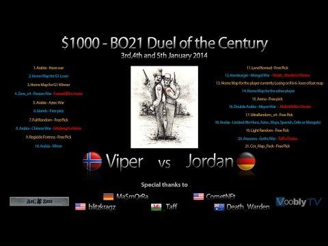 $1000: Jordan vs Viper - BO21 Game 21 Finale! commentary by Katsuni