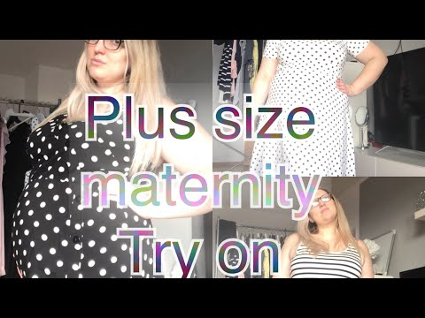 Plus Size Try On Haul, 2nd Trimester